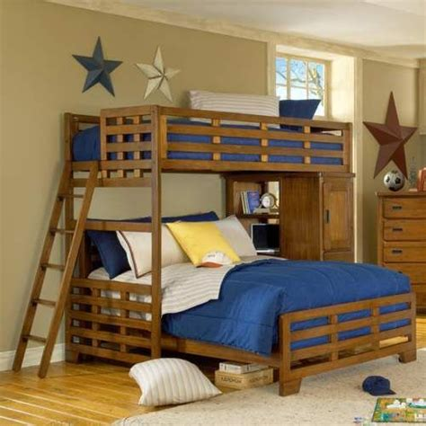 bunk bed plans twin  queen woodworking projects