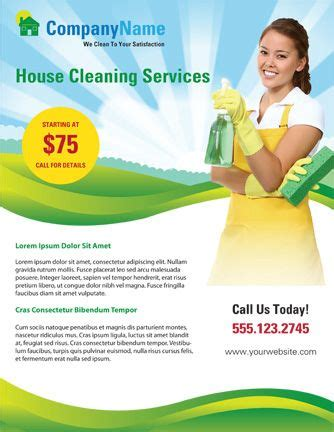 commercial cleaning flyer templates use this home cleaning flyer template to advertise your