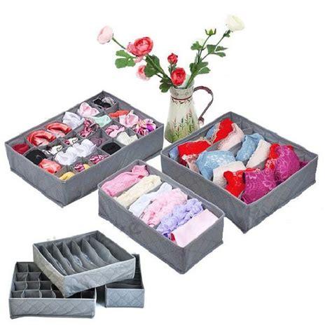 Tempat Penyimpanan Pakaian Dalam Storage Box aneka storage box organizer kotak penyimpan pakaian pakaian dalam sepatu