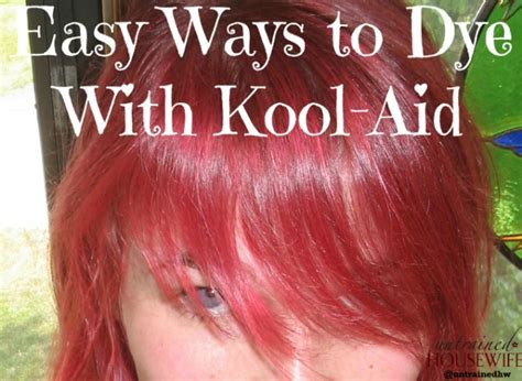 coloring hair with kool aid 5 easy ways to use kool aid as a dye
