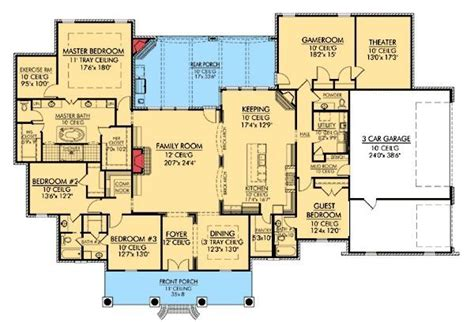 plans maison en photos 2018 plan w56361sm