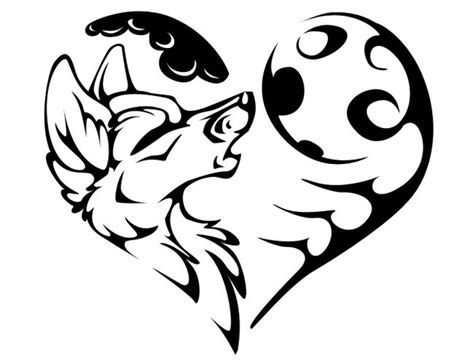 outline tribal images tribal wolf outline www pixshark images galleries