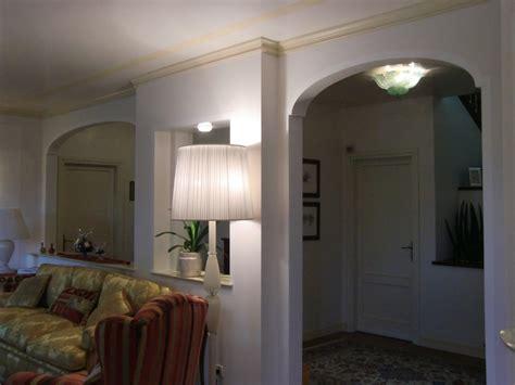 foto archi interni casa archi in cartongesso per separare soggiorno trevicartongesso