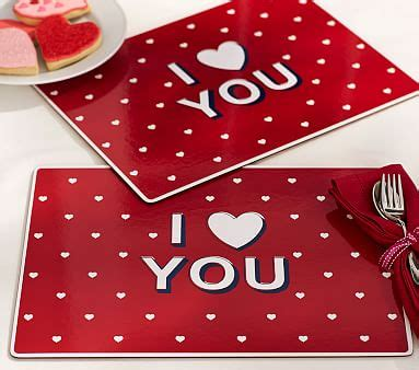 valentines placemats s day placemat pottery barn