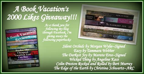 2000 Likes Giveaway - a book vacation giveaway 2000 likes giveaway