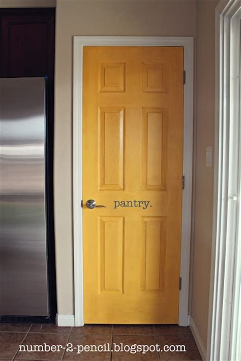 accent door colors no 2 pencil yellow pantry door makeover kitchen