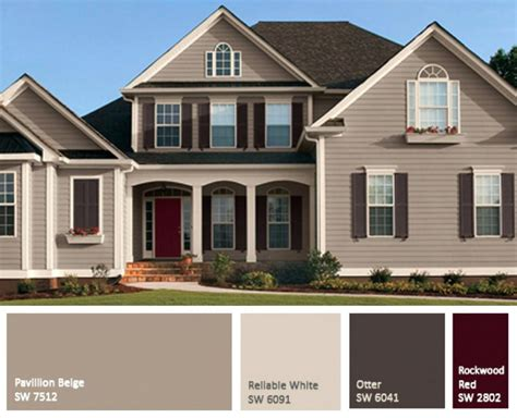 Exterior Color Combinations For Houses | exterior paint colors combinations home design