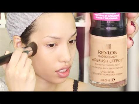 Revlon Photoready Foundation Review new revlon photoready airbrush effect foundation review