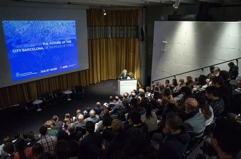 design event barcelona conference redefining urban design barcelona as case