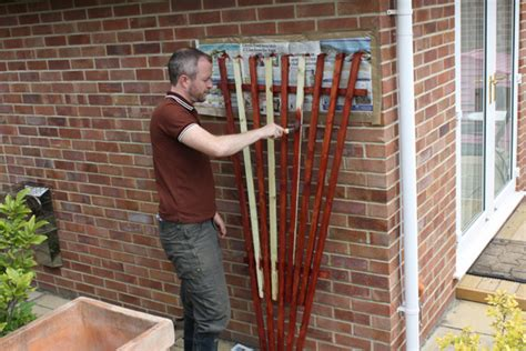 rose trellis plans diy fan trellis amateur gardening