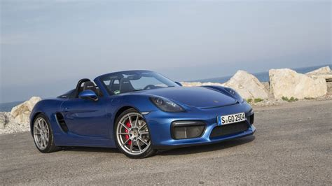 2016 porsche boxster spyder release date price and specs