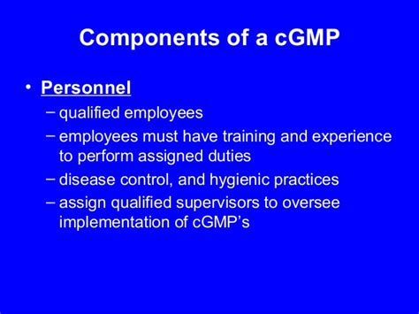layout of building in cgmp current good manufacturing practices by wsfcs