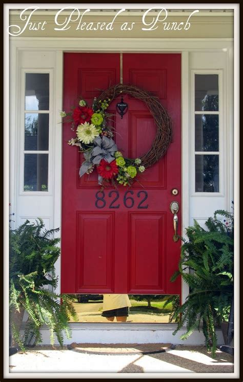 red door home decor 31 best images about black shutters on pinterest white