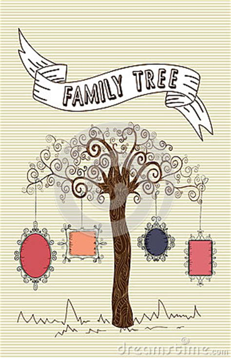Vintage Family Frames Tree Stock Image Image 32018791 Vintage Family Frames Tree Stock Image Image 32018791