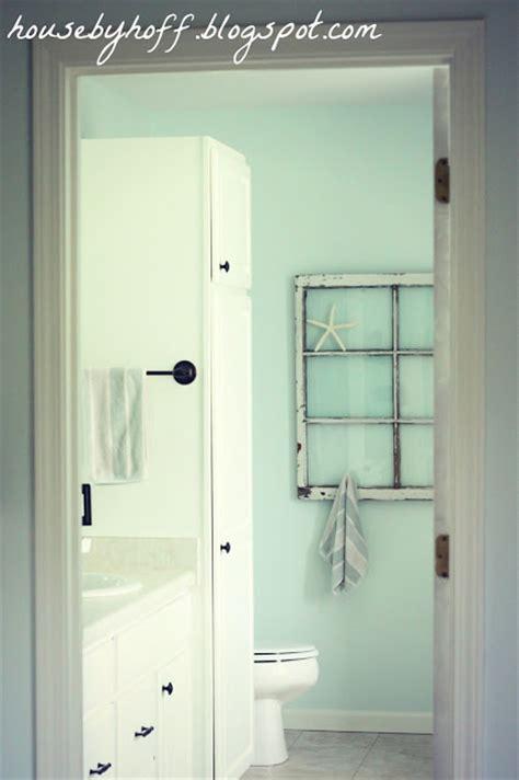 repurposed window bathroom towel rack house by hoff