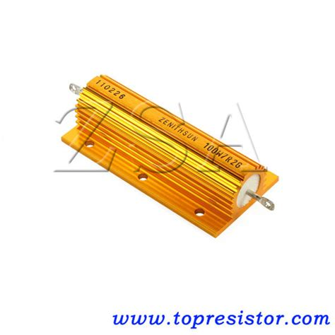 led load resistors getting china led load resistor rh china led load resistor gold aluminum encased power resistor