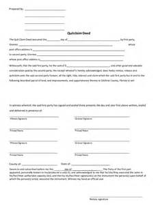 Florida Quit Claim Deed Form Template by Quit Claim Deed Form What Is A Quit Claim Deed