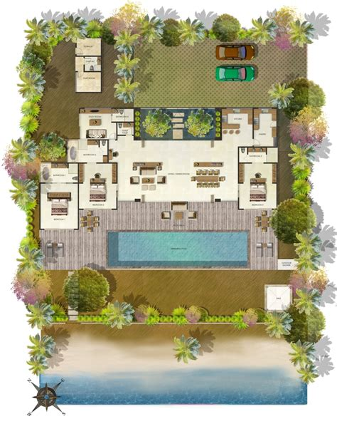 Bungalow Style Floor Plans dream land villa 171 maria paiva architect