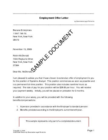 Appointment Letter Template South Africa employment offer letter south africa templates