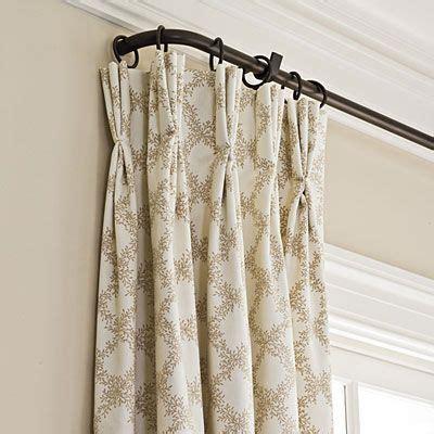 Living Room Curtain Holder Best 25 Drapery Rods Ideas On Drapery Ideas