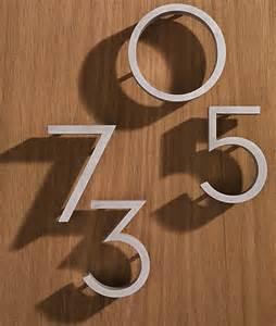 Neutra Modern House Numbers » Ideas Home Design