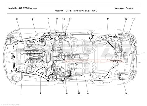 system fiorano 599 gtb fiorano electrical system parts at atd