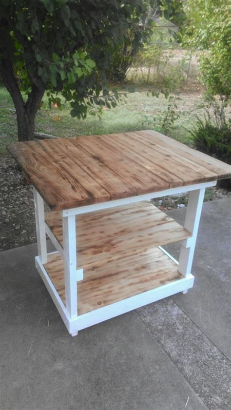 pallet kitchen island pallet kitchen island pallets pinterest stains
