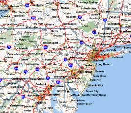 New York Washington Map by New York Washington Map