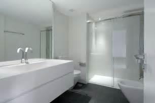 white bathroom designs white and modern bathroom design by a cero interior