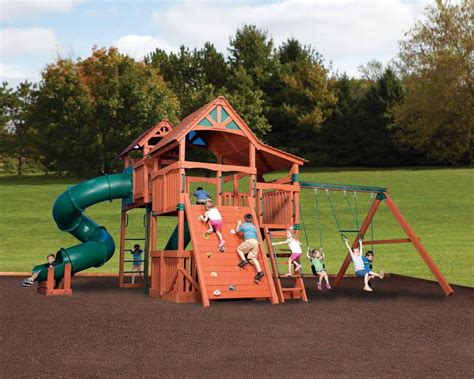 Olympian Treehouse Jumbo Playsets Outdoor Playsets