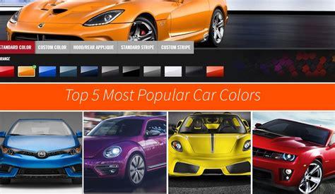 popular car colors the 5 most popular car colors news top speed