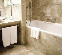 All Tile Bathroom Natural Stone Tile Bathroom Tile Other Metro By