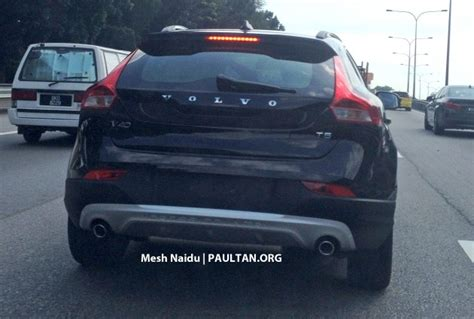 spied volvo  cross country spotted  malaysia