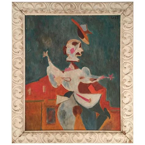 picasso painting yard sale 1940 painting in the style of picasso for sale at 1stdibs