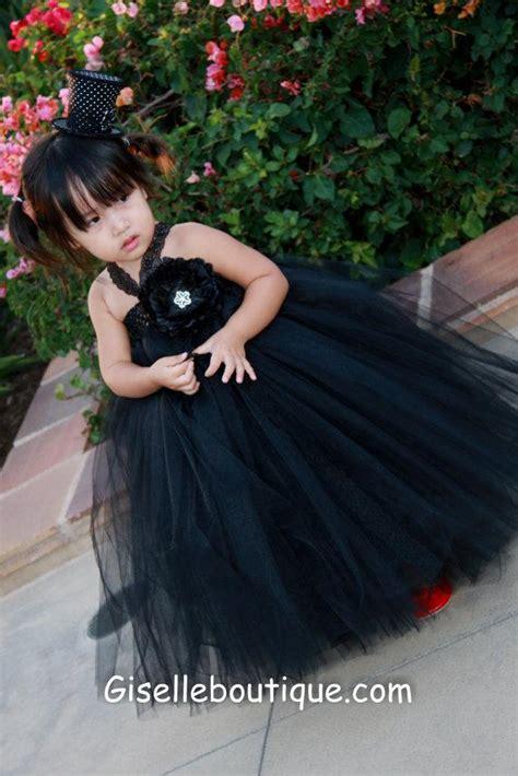 black baby dress flower dress black lacetutu dress with black flowers