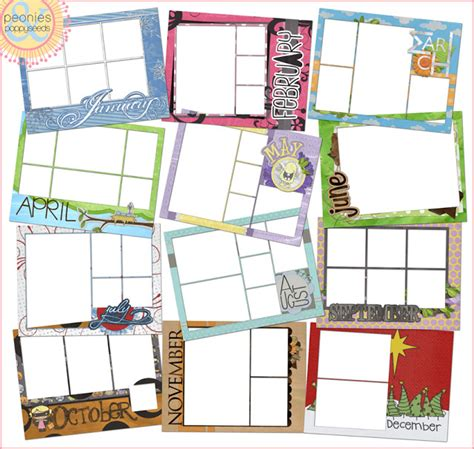 The Bingham Diaries Create Your Own Calendar Free Printable Template Free Make Your Own Calendar Templates