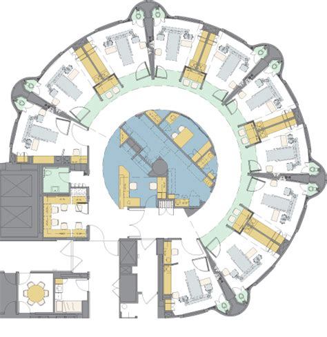 icu floor plan intensive care unit payette