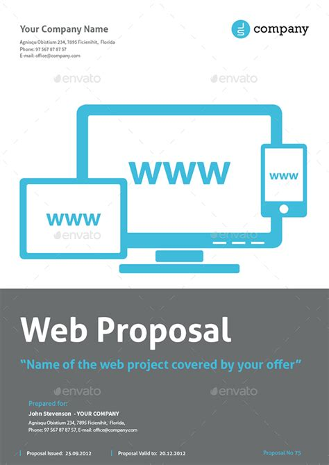 website design proposal cover letter homework services inc the lodges of colorado springs cover