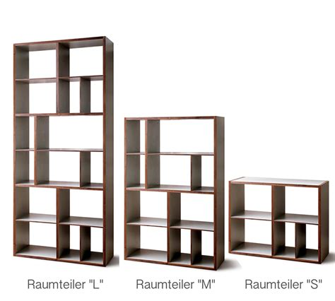 raumteiler regal mint design raumteiler regal quot shelf l quot massivholz mit