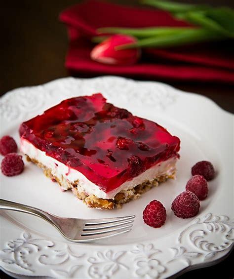 Fancy Coffee Cups Raspberry Pretzel Jello Make Best Healthy Fruit Dessert