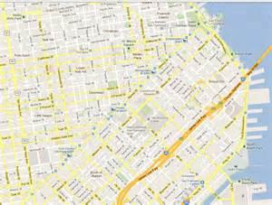 Google Maps San Francisco san francisco map google