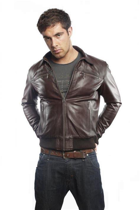 bomber jacket leather leather bomber jacket jackets