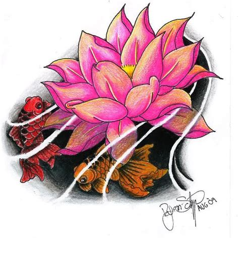tattoo flash lotus lotus tattoo tattoo flash pinterest