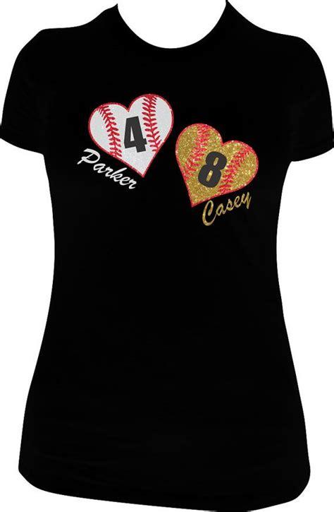 design a softball shirt baseball shirt softball shirt super sparkly glitter