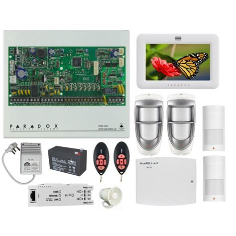 paradox wireless alarm system sp6000 kit innoza