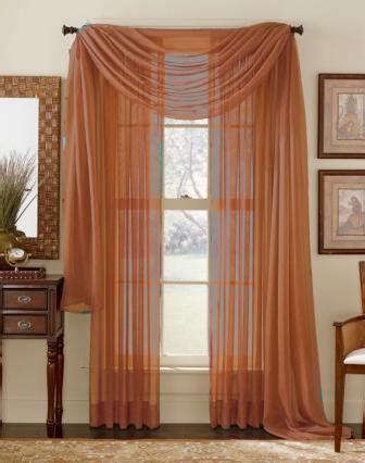 rust sheer curtains rust sheer curtain scarf moshells