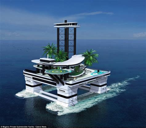 Home Design Show Miami by Migaloo Private Submersible Yachts Have Come Up With A