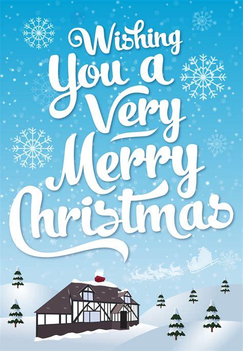 merry christmas christmas card   island