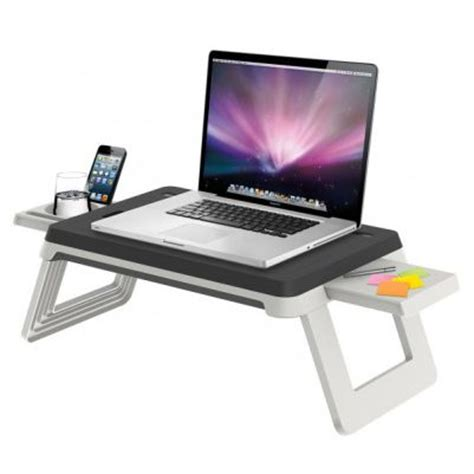 bureau pour pc portable 17 best ideas about support ordinateur portable on