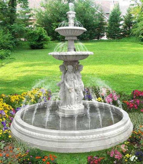 Water Fountains For Small Backyards by Water Fountains Front Yard And Backyard Designs